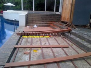 Jasa Pemasangan WPC Deck Pool 6