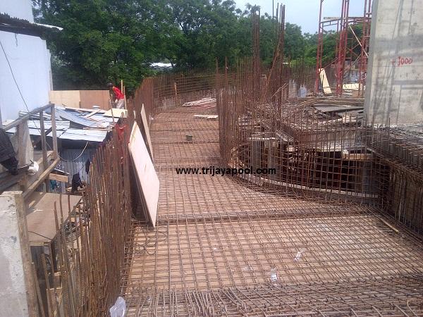 jasa pondasi beton kolam renang